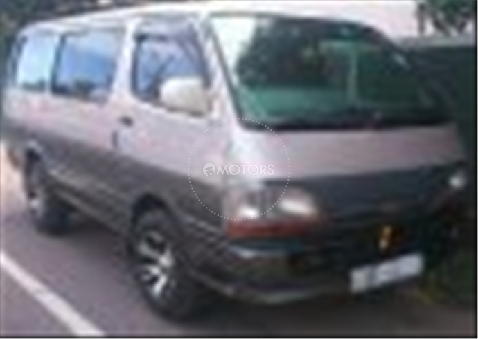 Registered (Used) 1996 Toyota dophine for sale in Gampaha